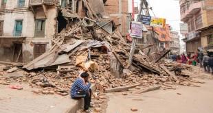 Katmandu, rovine dopo il terremoto del 25 aprile 2015 - (Foto ad uso editoriale shutterstock.com)