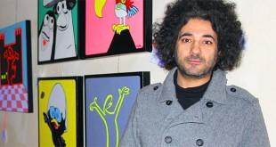 Il curatore della mostra, Sasha Torrisi