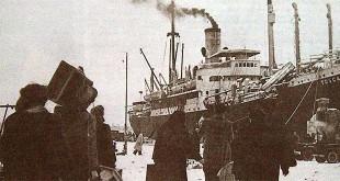 Esuli istriani partono alla volta dell'Italia