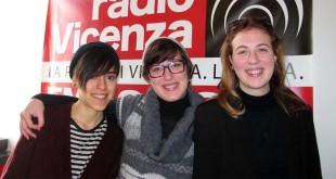 Da sinistra: Anna Oriella, Francesca Barco ed Eva Zilio