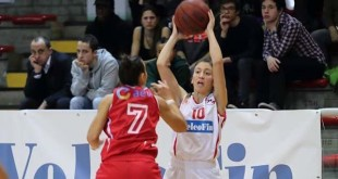 Giulia Scaramazza, play della VelcoFin
