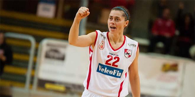 Anna Zimerle, play della VelcoFin Vicenza