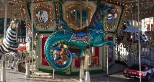 Attrazione da luna park, immagine di repertorio