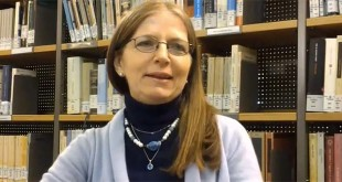 Mariapia Veladiano (Foto tratta da una videointervista di Alessia Liparoti, https://www.youtube.com/watch?v=cmLDSY_Oac8)