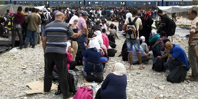 Profughi al confine greco-macedone - Fonte foto: www.dirittiglobali.it