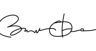 La firma del Presidente degli Stati Uniti Barak Obama