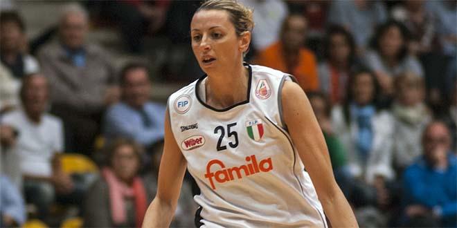 Laura Macchi, autrice di 23 punti nel match contro Ragusa