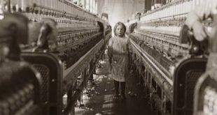 Lavoratori bambini nelle fabbriche degli Stati Uniti, agli inizi del '900