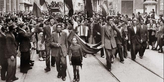 25 aprile 1945, il giorno in cui l'Italia ritrovò la libertà