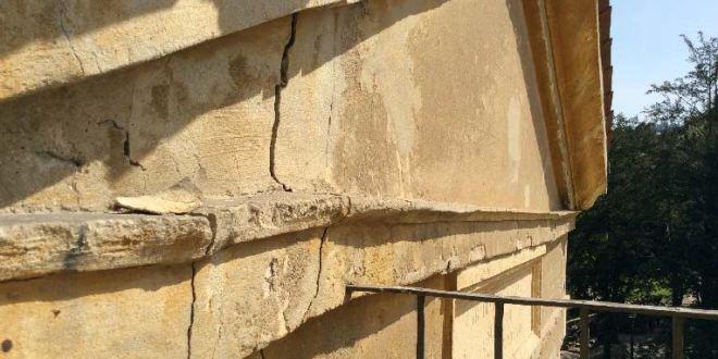 Alcuni dei problemi che affliggono la loggia Valmarana
