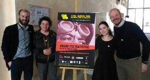 Gli organizzatori del Wtff: da sinistra Todescan, Plevano (Cinema Primavera), Resta, Dori (Exworks)