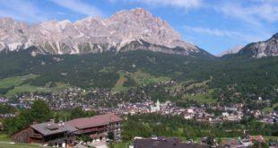 Panoramica di Cortina d'Ampezzo