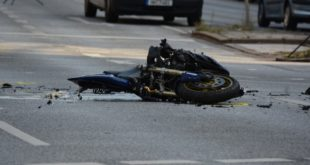 Incidente in moto, immagine di repertorio
