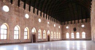 Il salone interno della Basilica palladiana di Vicenza