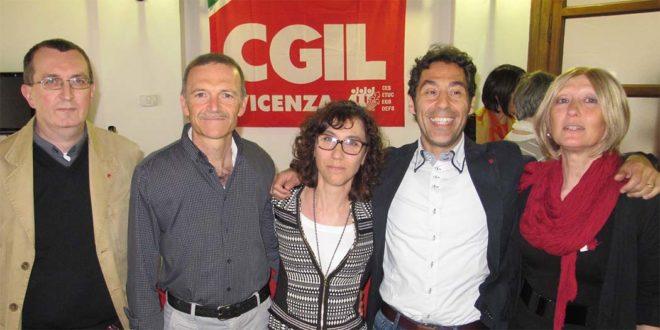 Da sinistra: Igino Canale, Giampaolo Zanni, Natascia Fabretti, Giancarlo Puggioni e Verena Reccardini