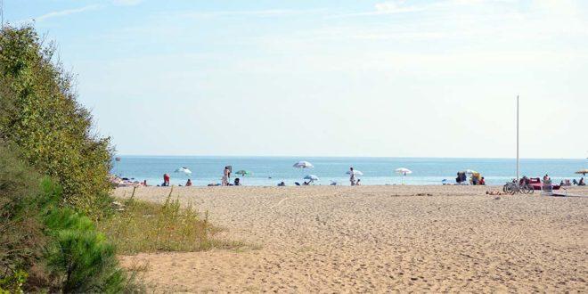 La spiaggia di Eraclea - Foto di Alberto Vigani (CC BY-SA 3.0,)