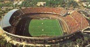 """Lo stadio """"Via del mare"""" di Lecce"""
