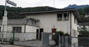 La caserma dei carabinieri di Valli del Pasubio