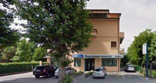 La banca rapinata oggi a Vicenza (Immagine ricavata da Google Maps)