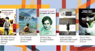 La cinquina delle opere finaliste del Premio Campiello 2016