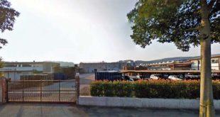 La sede, ad Altavilla, dell'azienda Imp, dove è stato trovato morto un lavoratore