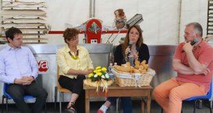 L'assessore Regionale Elena Donazzan interviene durante un dibattito a Panis Marano 2016
