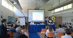 """Un momento della presentazione del progetto """"Sostenibilità: dal fare al dire"""""""