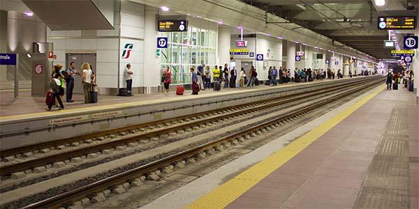 Binari della Stazione Alta Velocità Ferroviaria di Bologna Centrale - Foto: Incola (Creative Commons)
