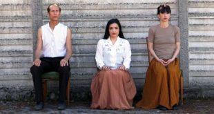 Da sinistra: Thierry Parmentier, Laura Chemello e Valentina Motteran in uno scatto di Laura Chemello