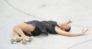 """Silvia Stibilj, oro nella """"Solo Dance Internazionale Seniores femminile"""". Foto di Raniero Corbelletti"""