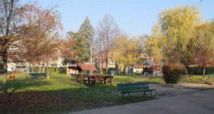 Il parco del Villaggio Sos di Vicenza