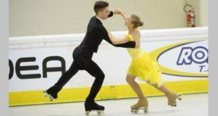 """Luca Rossetti e Alessia Orsi, oro nelle """"Coppie danza juniores"""". Foto di Raniero Corbelletti"""