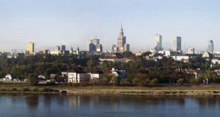 Una veduta di Varsavia, capitale della Polonia