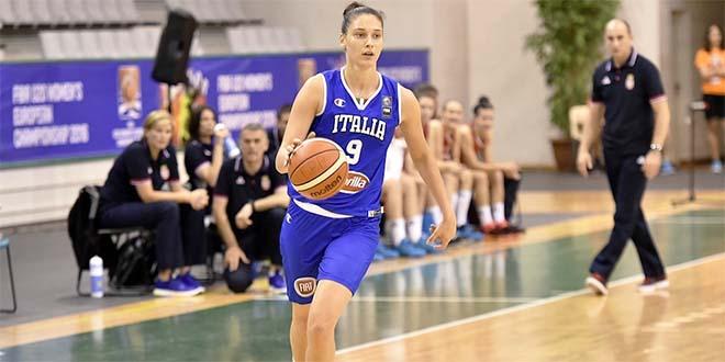 Basket, Zandalasini Mvp dell'Europeo under 20