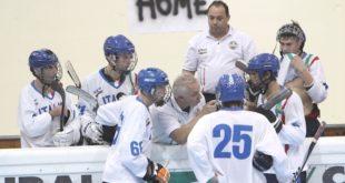 La nazionale italiana di hockey inline under 18. Foto di Roberta Strazzabosco