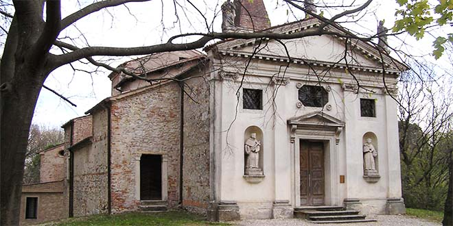 La chiesa di San Marco, a Montegalda - Foto da www.visitmontegalda.com