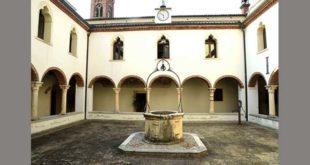 Il chiostro del convento di Santa Maria del Cengio, a Isola Vicentina