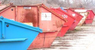 Container per rifiuti. Immagine di repertorio