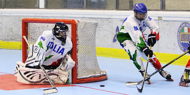 Hockey inline, Italia U18 in corsa per medaglia d'oro