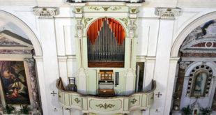 Organo Zordan del 1882, nella chiesa parrocchiale di Quinto Vicentino