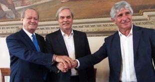 Da sinistra, Pastorelli, Variati e Abodi