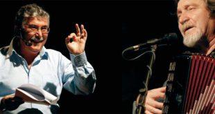 Gian Antonio Stella e il musicista Gualterio Bertelli