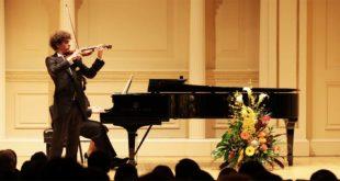 il giovane violinista Giovanni Zanon