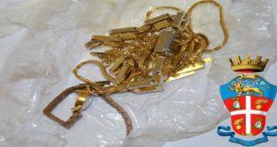 Oro rubato ad anziani e recuperato dai Carabinieri