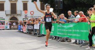 L'arrivo del vincitore, Diego Avon (Foto Silvano Saccardo)