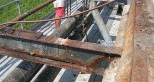 Il grave stato di usura di Ponte dei Marmi