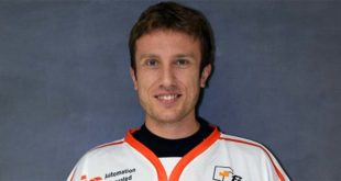 Filippo Pozzan, attaccante dei Diavoli Vicenza, autore della rete biancorossa