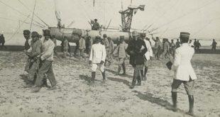 Una foto di Faliero Ignesti in Libia