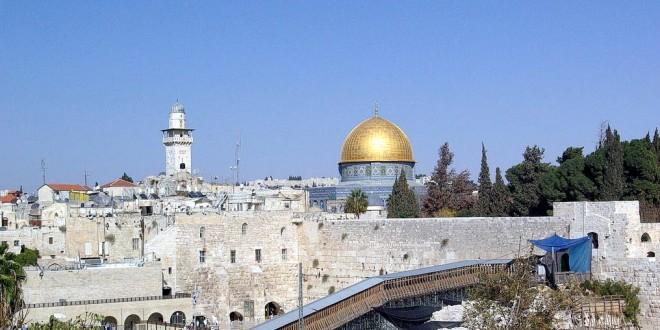 Uno scorcio di Gerusalemme, città Santa per le tre religioni monoteiste