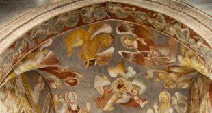 Chiesa di Sant'Agostino, a Vicenza. La volta dell'altare maggiore (dettaglio). Foto di Claudio Gioseffi (CC BY-SA 4.0)